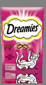 Dreamies™ Beef 60g
