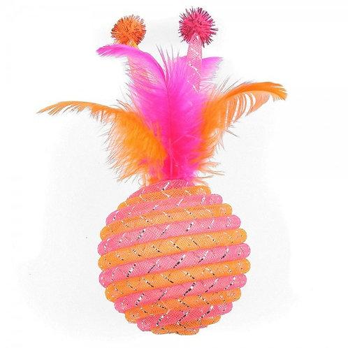 Happypet Jumbo Jazzle Sparkler Orange Cat Toy