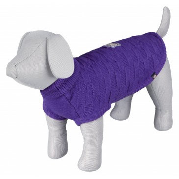 Trixie Pullover Lilac Dog Jumper