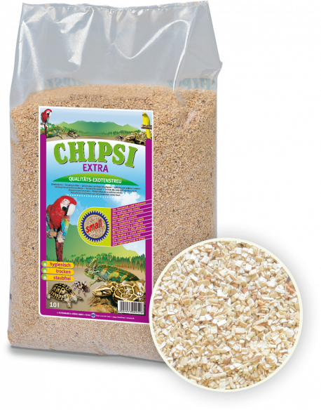 Chipsi Extra Beechwood Woodchip Small 10L/3kg