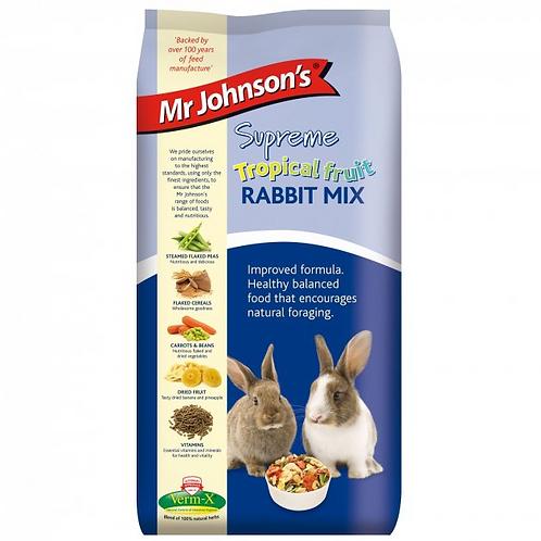 Mr Johnson's Supreme Tropical fruit RABBIT MIX