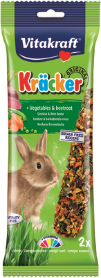 Vitakraft Rabbit Vegetable & Beetroot Kracker 112g