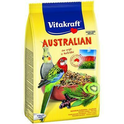 Vitakraft Australian food for Cockatiels & Parakeets 750g