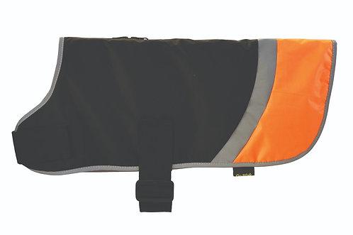 Go-Walk Hi-Vis Small Orange Dog Coat by Hapypet
