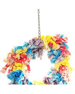 Happypet Flossing Ring Bird Toy