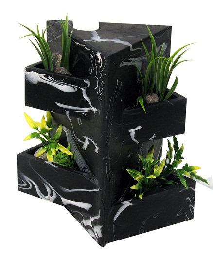 Fluval Edge Black Marble Ornament