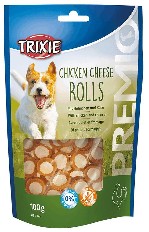 Trixie PREMIO Cheese & Chicken Rolls