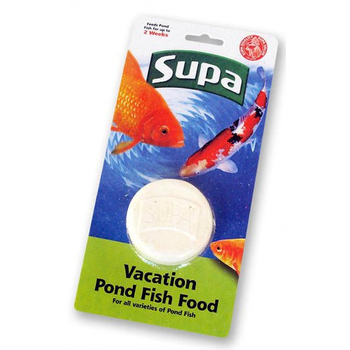 Supa Pond Vacation Fish Food