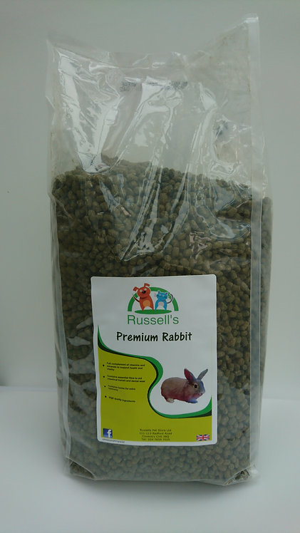 Russell's Premium Rabbit food