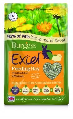 Burgess Excel Feeding Hay with Dandelion & Marigold 1kg