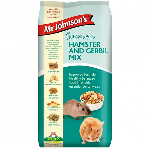 Mr Johnson's Supreme HAMSTER & GERBIL MIX 1kg