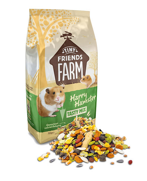 Tiny Farm friends Harry Hamster Tasty Mix 700g