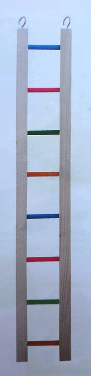 Happypet Wooden Multi-Coloured Bird Ladder
