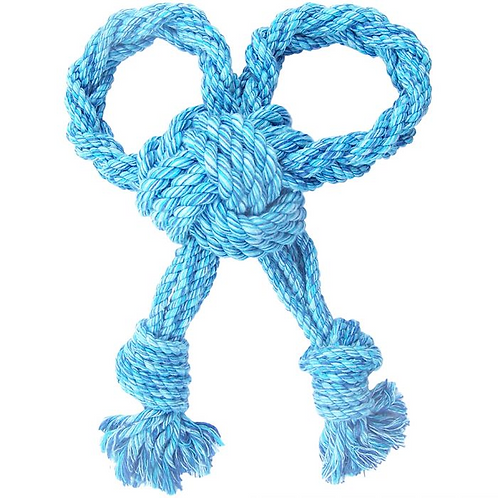 Happypet Nuts For Knots Bow Tugger