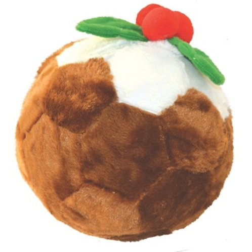 Happypet Christmas pud Football Dog toy