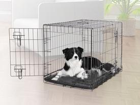 Dogit Crate 2 Door Black Wire Home