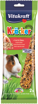 Vitakraft Guinea Pig Fruit & Flakes Kracker 112g