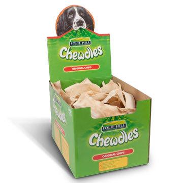 Foldhill Chewdles Original Chips  - per 100g