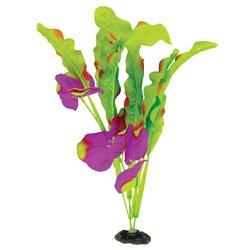 Marina Naturals Indigo & Green Waffle Leaf Silk Plant - Large - 33 - 35.5 cm (13