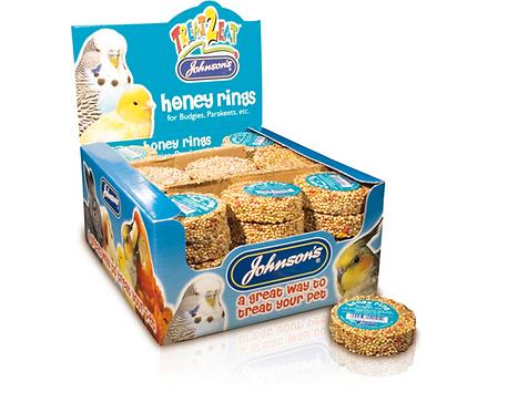 Johnson's Honey Rings for Budgies, Parakeets etc.
