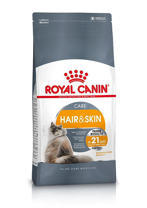 Royal Canin Hair & Skin Cat Food 2kg