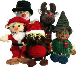 Animate Scarecrow Cristmas Dog toys