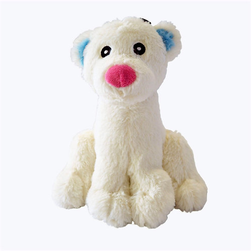 Winter Bear Dog toy by Happypet