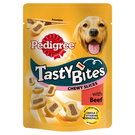 PEDIGREE® Tasty Bites Chewy Slices with Beef
