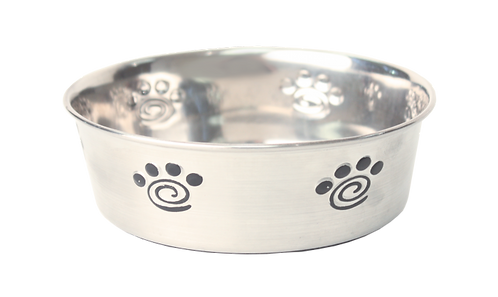Happypet Heavy Duty Non Silp Stainless Steel Paw Bowl 20cm