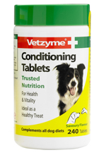 Vetzyme conditioning tablets for dogs - 240