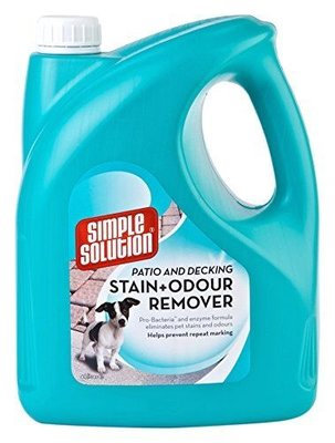 Simple Solution Patio & Decking Stain + Odour Remover 4 litre
