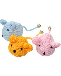 Happypet Knitted Mouse Cat Toy