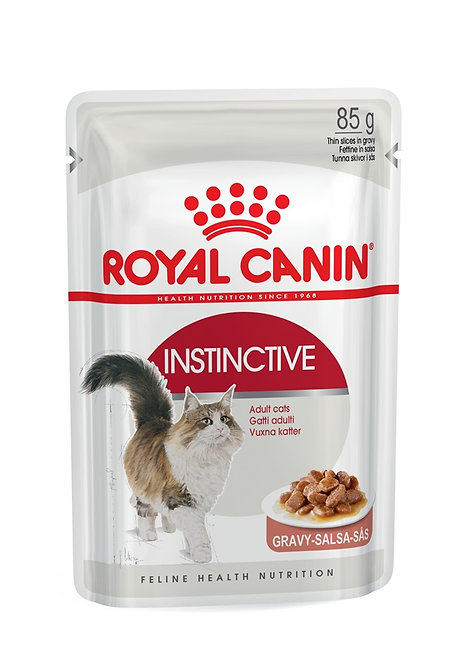 Royal Canin Instinctve in Gravy Wet Pouch Cat Food