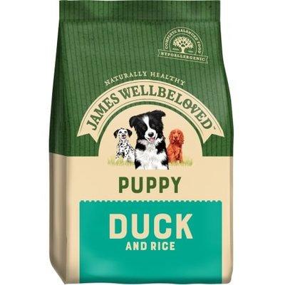 James Wellbeloved Puppy Duck & Rice 2kg