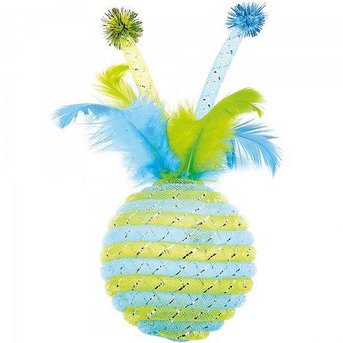 Happypet Jumbo Jazzle Sparkler Blue Cat Toy