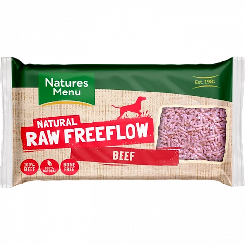 Natures Menu Freeflow Beef