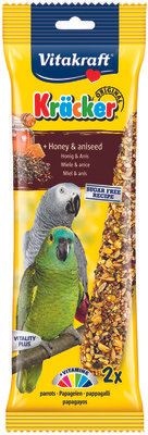 Vitakraft Honey & Aniseed Kracker for parrots