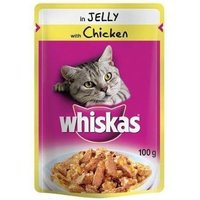 Whiskas Chicken Pouches 7 x 100g