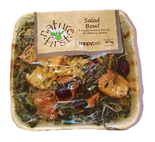 Salad Bowl by Happypet Nature First