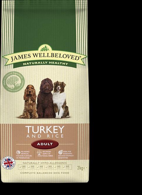 James Wellbeloved Adult Turkey & Rice
