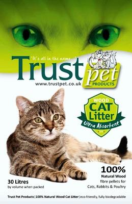 Trust Wood Cat Litter 30L