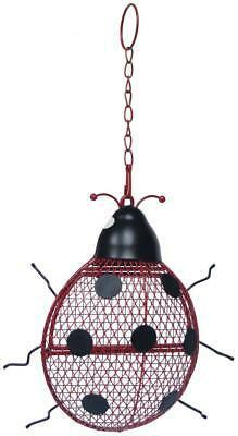 Super Ladybird Peanut Feeder for Wild Birds