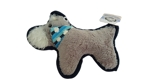 Scottie Dog Winter Wonderland Dog Toy by Happypet