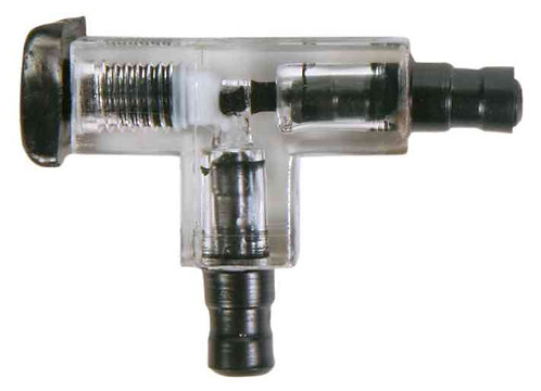 Trixie T Connector with Valve for Airline