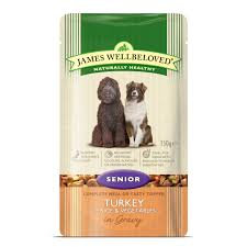 James Wellbeloved Senior Turkey in Gravy  10 x Pouches