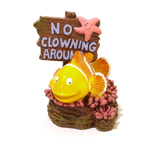 No Clowning Around Fish Tank decoration by Rosewood