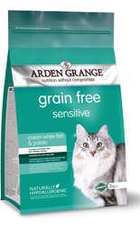 Arden Grange Cat Sensitive - Ocean White Fish & Potato