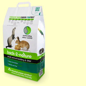 Back-2-Nature small animal bedding and litter 20L