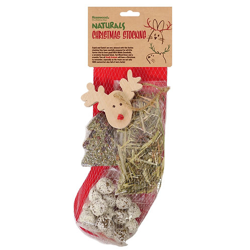 Rosewood Naturals Christmas Stocking for Small animals