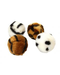 Happypet Fuzzeez Ball with Bell Cat Toy